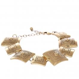 Wholesale L07C Tribal square metal bracelet GB