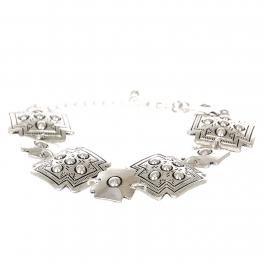 Wholesale L08E Tibal circles cross metal bracelet SV