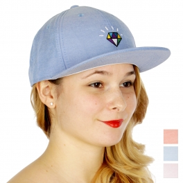 Wholesale W19A Colorful diamond embroidered snapback BL