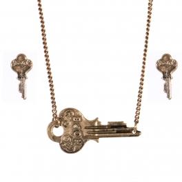 Wholesale WA00 Key pendant necklace set Hope 2 GB