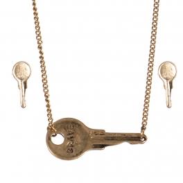 Wholesale WA00 Key pendant necklace set Brave 2 GB