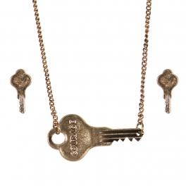Wholesale WA00 Key pendant necklace set Courage 2 GB