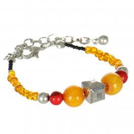 Wholesale WA00 Handmade amber beads bracelet