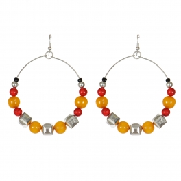 Wholesale WA00 Handmade amber beads earrings