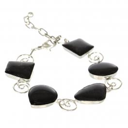 Wholesale WA00 Handmade bead bracelet Black