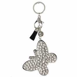 Wholesale WA00 Keychain Tassel and Butterfly RBK