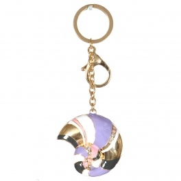 Wholesale WA00 Metal keychain Snail G
