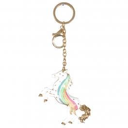 Wholesale WA00 Metal keychain Unicorn G