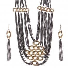 Wholesale Multi chain necklace set GHT