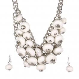 Wholesale Bead cluster necklace set RWT