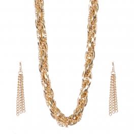 Wholesale Braided strand necklace set G