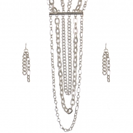Wholesale Multi chain layered necklace set R