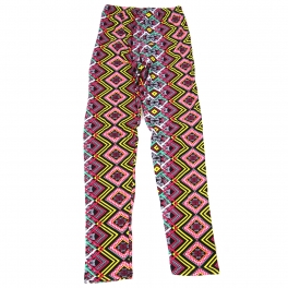 Wholesale B04A Girls print leggings ABSTRACT