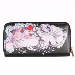 Wholesalse P18C Fruit tree girl wallet
