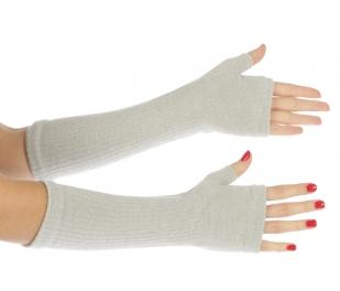 wholesale K02 Lurex opera gloves Silver fashionunic