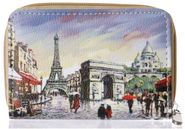 Wholesale P13B Paris layout wallet PU