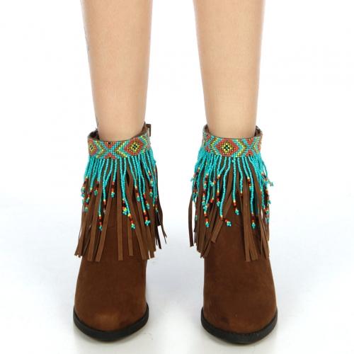 wholesale N46 Tribal fringe anklet BMT fashionunic
