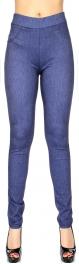 Wholesale E01B Simple jeggings Blue