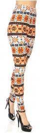 Wholesale T67C NEW MIX soft brushed leggings Aztec