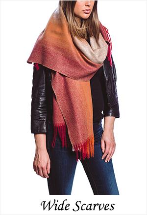 wide scarves
