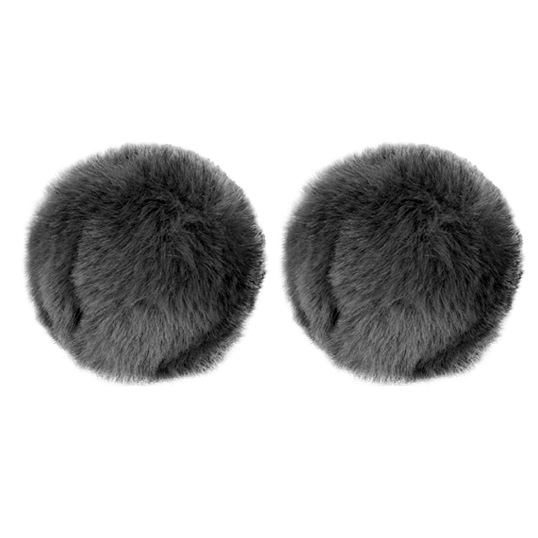 M35B Pom pom SHOES accessory pair BK