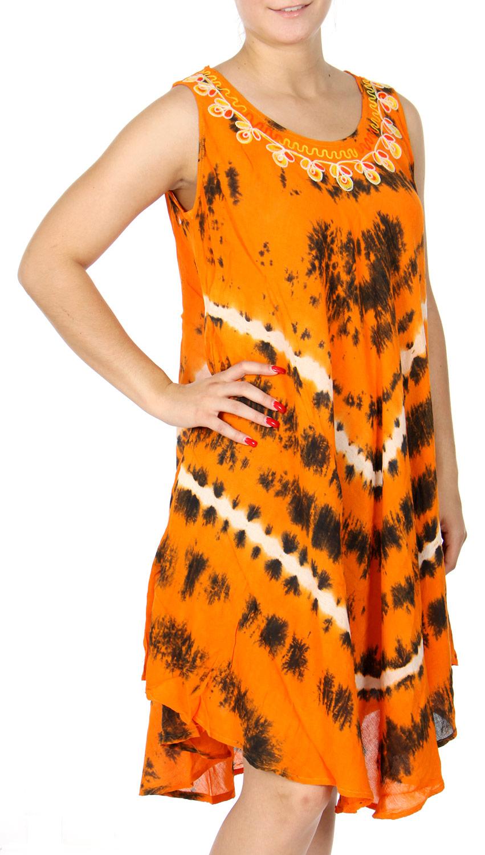 Wholesale K62D Neck embroidery circular tie dye batik dress PLUS ...