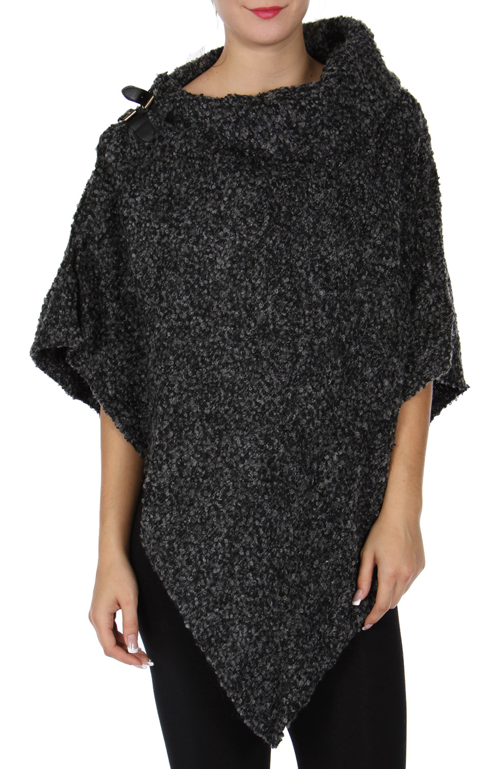 BELT BUCKLE clasp woven poncho