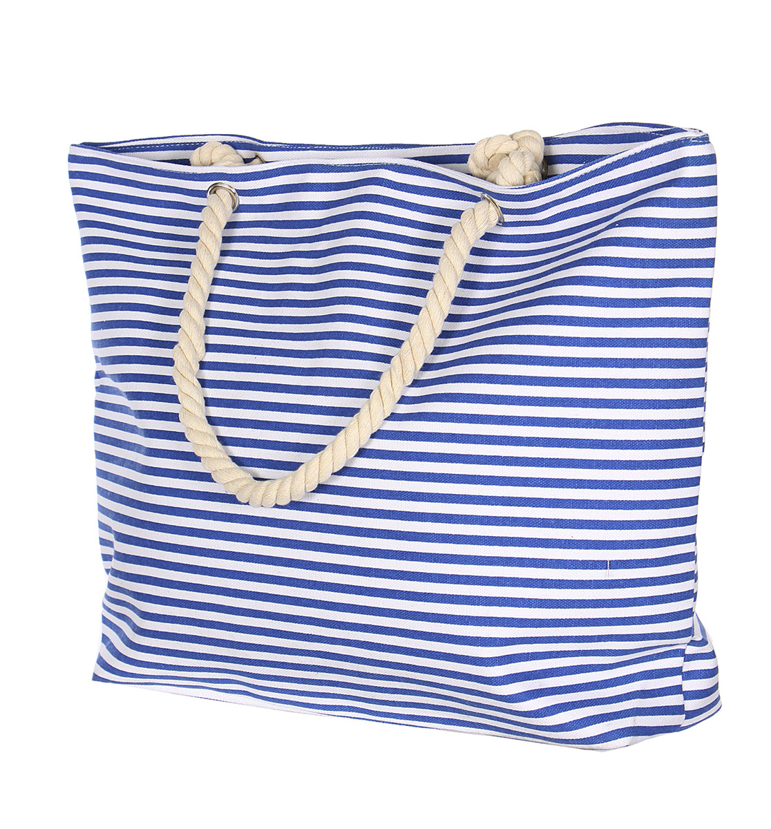 ''Cotton blend pinstripe BEACH BAG(20 x 5.5 x 15'''')''