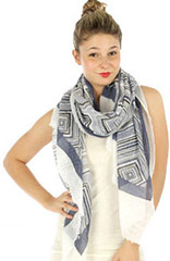 Wholesale Abstract Shawls