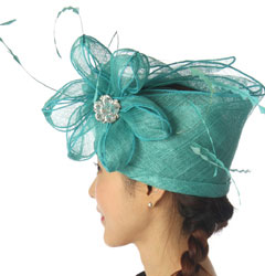 Wholesale-Sinamay-Cloche-Hats