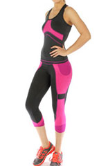 wholesale Yoga Capri Sets