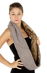 wholesale scarf faux fur