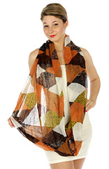 Wholesale scarves abstract