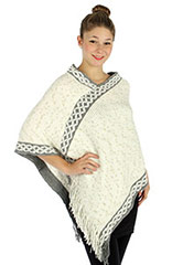 wholesale knit ponchos
