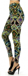 wholesale Q00 Tribal temple fur leggings fashionunic