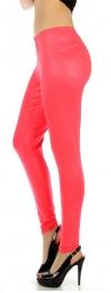 wholesale M80 Snakeskin embossed leggings Pink Queen