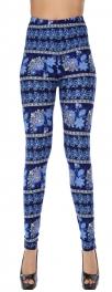 Wholesale Y05DNEW MIX Electric flower soft brush leggings