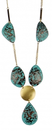 "Wholesale L25A Brass plate 36"" necklace TT1"
