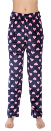 Wholesale U08 Pajama pants Hearts Navy