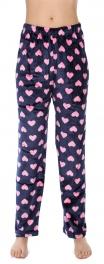 Wholesale U08 Pajama pants Hearts Navy