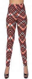Wholesale Y05B NEW MIX Multi zig zag soft brush leggings