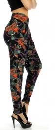 wholesale Q30 Cotton blend brush pocket harem pants
