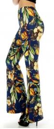 wholesale B06 Flower bell bottom pants fashionunic