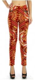 wholesale BX5 fur chain zipper pockets leggings