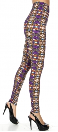 Wholesale T67C NEW MIX soft brushed leggings Abstract