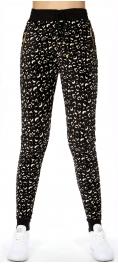 wholesale Q43 Abstract animal pocket velour jogger pants