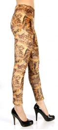 wholesale B07 Building fur lined leggings fashionunic