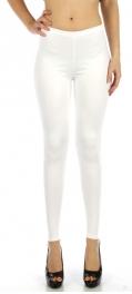 wholesale M80 Snakeskin embossed leggings White Regular
