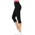 Wholesale WA00 Neon meshed waist capri pants N.Pink