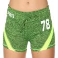 Wholesale E12A Workout shorts Green/Lime